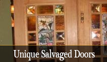 Unique Salvaged Doors